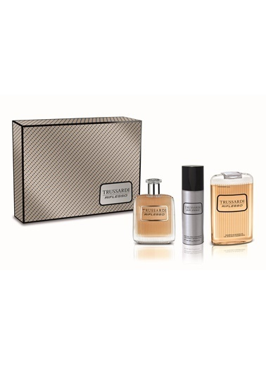 Trussardi Trussardi Riflesso E.Edt 100+Sdj100+Deo100 Erkek Parfüm Set Renksiz